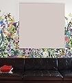 May-Meadow-Blumen-Blätter-Florale-Muster-Moderne-Muster-FotoTapeten-Multicolor