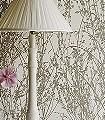 Meadow-Canvas,-col.03-Äste-Schemen/Silhouetten-Florale-Muster-Gold-Creme