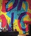 Melchi-Figuren-Buchstaben-FotoTapeten-Blau-Gelb-Pink