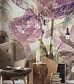 Metropical-Faded-Blumen-Großmotiv-Florale-Muster-FotoTapeten-Grün-Creme-Flieder