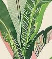 Miami,-col.-Blush-Blätter-Florale-Muster-Exoten-Grün-Rosa-Creme-Hellblau