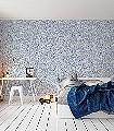 Mil-Caras,-col.01-Gesichter-Zeichnungen-Moderne-Muster-Blau-Weiß