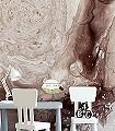 Milch-und-Schokolade-Formen-Moderne-Muster-Lila-Braun-Hellbraun