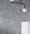 Moa,-col.-08-Blumen-Tiere-Blätter-Äste-Fauna-Florale-Muster-Grau-Anthrazit-Weiß