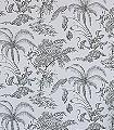 Moa,-col.-09-Blumen-Tiere-Blätter-Äste-Fauna-Florale-Muster-Anthrazit-Weiß-Creme