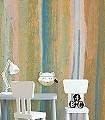 Morgentau-5-Uhr-Streifen-Farbverlauf-Moderne-Muster-Multicolor