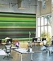 Motions,-greenhell-Streifen-Moderne-Muster-Grün-Braun