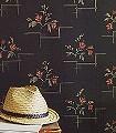 Muriel,-col.81-Blumen-Retro-Vintage-Tapeten-Retro-Muster-Rot-Gold-Braun