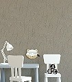 NEFERTITI-TAUPE-Figuren-Gesichter-Art-Deco-Silber-Anthrazit-Hellblau