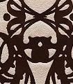 Narbonne,-col.-12-Ornamente-Ranken-Klassische-Muster-Florale-Muster-Gold-Braun