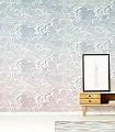 Nuvole-al-Tramonto,-col.-7-Wolken-Moderne-Muster-FotoTapeten-Blau-Rosa-Weiß