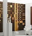 ORFEVRERIE-Quadrate/Rechtecke-Moderne-Muster-FotoTapeten-Textil-&-NaturTapeten-Braun-Gelb