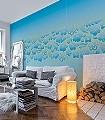 Oceans,-mentawaimint-Blumen-Blau-Hellgrün