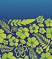 Oceans,-teahupooblue-Blumen-Grün-Blau-Hellgrün