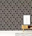 Ohin-Night-Kreise-Moderne-Muster-Grafische-Muster-Anthrazit-Bronze