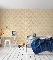 Olivia,-col.-50-Bögen-Grafische-Muster-Art-Deco-Creme-Hellbraun