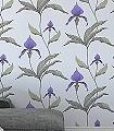 Orchid-No.-24-Blumen-Moderne-Muster-Grau-Anthrazit-Olive-Flieder