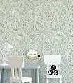 Osier,-col.-9-Blätter-Äste-Florale-Muster-Hellgrün-Creme-Hellbraun