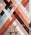 Oxford-Rauten-Schemen/Silhouetten-FotoTapeten-Multicolor