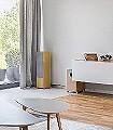 Paese-5-Gebäude-Moderne-Muster-Ocker-Multicolor