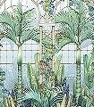 Palm-House,-col.-2-Bäume-Landschaft-Blätter-Florale-Muster-Multicolor