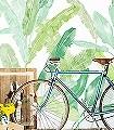 Palm-Springs-Blätter-FotoTapeten-Grün-Hellgrün-Weiß