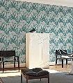 Palmaria,-col.-1-Blätter-Florale-Muster-Grün-Silber-Braun