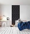 Panel-Ballet-Mirror-Figuren-Moderne-Muster-FotoTapeten-Schwarz-und-Weiß