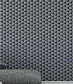 Pankratz,-col.10-Quadrate/Rechtecke-3D-Tapeten-Grafische-Muster-Grau-Anthrazit