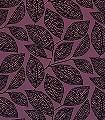 Pebble-Leaf,-col.01-Blätter-Florale-Muster-Moderne-Muster-Lila-Schwarz