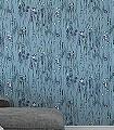 Perlas,-col.06-Perlenvorhang-Zeichnungen-Moderne-Muster-Lila-Anthrazit-Weiß-Hellblau-mint