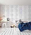 Phöbus-Panel-Moderne-Muster-Grau-Weiß