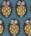 Pina,-col.-4-Früchte-Florale-Muster-Blau-Gelb-Anthrazit-Weiß