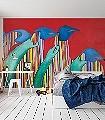Pinguin-Tiere-Kunst-Großmotiv-FotoTapeten