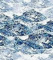 Poissons-Dance,-col.03-Fische-Moderne-Muster-FotoTapeten-Blau-Weiß
