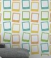 Polaroid-Tapete-1A-Kunst-Bilderrahmen-Moderne-Muster-Multicolor
