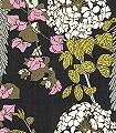 Polka-Polka-Blumen-Blätter-Florale-Muster