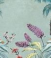 Polly,-river-Bäume-Landschaft-Vögel-Großmotiv-Fototapeten-Kolonialstil-Exoten-Multicolor