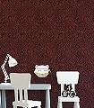Poppy-Claret-Blumen-Blätter-Klassische-Muster-Florale-Muster-Rot-Schwarz