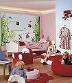 Princess-Tiere-Landschaft-Figuren-FotoTapeten-KinderTapeten-Multicolor
