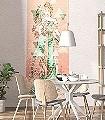 Printemps,-col.-5-Figuren-Gesichter-Graphisch-Jugendstil-Klassische-Muster-FotoTapeten-Jugendstil-Multicolor