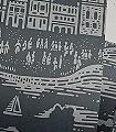 Province,-graphite-Bäume-Gebäude-Schiffe-Moderne-Muster