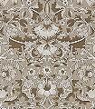 Pure-Lodden,-col.09-Blumen-Blätter-Jugendstil-Klassische-Muster-Jugendstil-Creme-Hellbraun