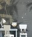 Purity,-L-Gesichter-Federn-Moderne-Muster-FotoTapeten-Grau-Braun