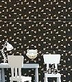 Puzzle-Labyrinth,-col.-06-Kreise-Graphisch-Grafische-Muster-Art-Deco-Gold-Schwarz-Weiß