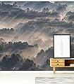 RAYS-Landschaft-Moderne-Muster-FotoTapeten-Multicolor