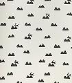 Rabbit,-off-white-Tiere-Schemen/Silhouetten-KinderTapeten-Schwarz-Weiß