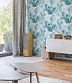 Raina,-col.-1-Blätter-Florale-Muster-Grün-Blau-Weiß