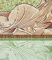 Reflexion,-col.-5-Ornamente-Figuren-Gesichter-Klassische-Muster-FotoTapeten-Jugendstil-Multicolor