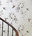 Ricka,-col.02-Blumen-Vögel-Fauna-Florale-Muster-Silber-Anthrazit-Creme-Multicolor
